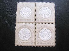 GERMANY 1872  MI.NR.22 LARGE SHIELD  OCHRE EXPERTISED MNH  $720