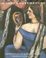 Phillip Sale UK001 Impressionist & Modern Art Picasso Post Auction Catalog 2002