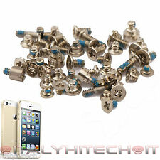 CONJUNTO COMPLETO 52 TORNILLOS PARA IPHONE DE APPLE 5S ORO KIT
