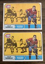 1968-69 Topps Set Break # 66 Gilles Tremblay LOT 2
