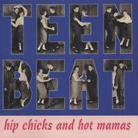 Teen Beat Volume 2 CD - Hip Chicks and Hot Mamas CD NEW 1950s rock 'n' roll Jive