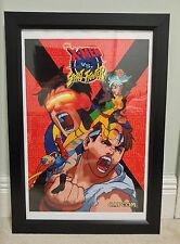 "CAPCOM X-MEN vs Street Fighter Arcade Poster 12"" x 18"" size (CPS2)"