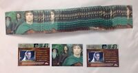 Lot of 60 Cards 2004 Topps Chrome The Lord of The Rings Trilogy P1 Promo Card