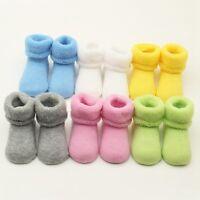 Newborn Toddler Baby Girls Boys Socks Winter Thicken Warm Socks Anti Slip Cotton