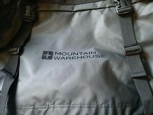Mountain Warehouse Cargo Bag 90L Grab Handle Travel Rucksack Straps Carry Handle