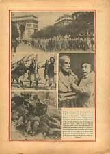 Défilé des Croix de Feu Colonel de La Rocque Champs-Elysées 1934 ILLUSTRATION