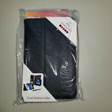 New rooCASE PU Leather Dual-View Folio Asus MeMOPad HD 7 w/Stylus Color: Black