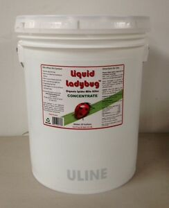 LIQUID LADYBUG Spider Mite Killer 4/5 Gallon Concentrate makes 20 Gallons - NEW
