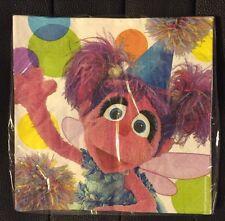 Sesame Street Abby Cadabby 16 Large Napkins Birthday Party Supply Favors NIP