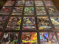 Pokemon Card Lot 20 Holo Pack w/ 1 GX or Better! Rainbow, Full Art, Tag Team