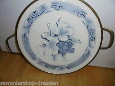27169 TORTENPLATTE Art Deco Spritzdekor THEODOR PAETSCH Dekor 5078 Weintrauben