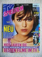 TV Spielfilm 20/05, 01.–14.10.2005, NUR Titelblatt Keira Knightley,KEIN Programm