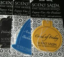 BIG SALE. WOODY OUD CAR AIRFRESHNERS X6 Scent Salim, Friday,  woody, Creed