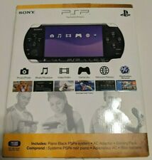 Sony PSP-3001 Piano Black Handheld System, Complete in box w/extras