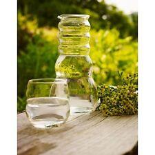 WATER PITCHER (CADus) - 1 L Verre Carafe par natures design avec fleur de vie