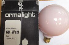 ORMALIGHT Globe 125 mm 220-230V 60W E27 Lámpara de G125 Roze Rosa