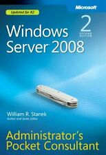 Windows Server® 2008 Administrators Pocket Con... by William R. Stanek Paperback