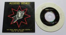 "Access Denied – The Music Makes - Mini CD 3"" Inch Hip Hop 1689"
