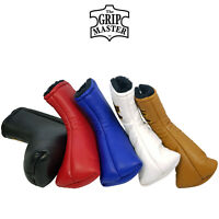 The Grip Master Cabretta Genuine Leather Blade Putter Headcovers