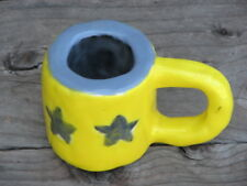 Signed Pottery Miniature Cup/Mug