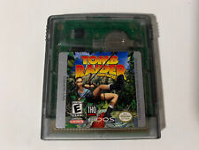 Tomb Raider Starring Lara Croft (Nintendo Game Boy Color, 2000) Authentic Tested