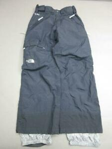 THE NORTH FACE SIZE S WOMENS BLACK WATERPROOF NYLON HYVENT SNOW SKI PANTS T714
