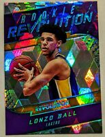 2017-18 Lonzo Ball Panini Revolution Rookie Revolution Cubic /50 RARE RC HOT🔥