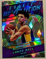 2017-18 Lonzo Ball Panini Revolution Rookie Revolution Cubic /50 RARE RC HOT🔥
