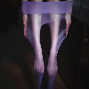 Women Ultra-thin Sexy Oil Shiny Glossy Pantyhose Sheer Stockings Seamless Tights