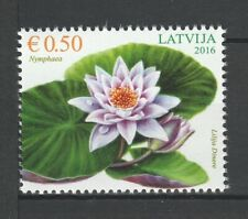 Latvia 2016 Flowers MNH stamp