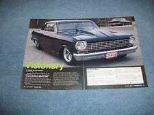 "1964 Chevy II Nova Pro Street Article ""Visionary"""