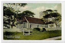 (Sd349-176)  The Church & Stocks, MONKTON THANET,  c1910, Unused  VG