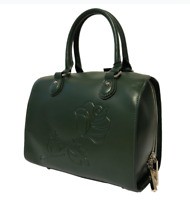 Jack French London Brompton Forest Green Napa Ladies Handbag RRP £239