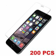 Lot 200 Premium Tempered Glass Screen Protector for Apple iPhone 6, 6s, 7, 7s, 8