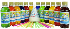 Slush Puppy Syrup 12 x 250ml Pack use with all Slush and Snow Cones Machines