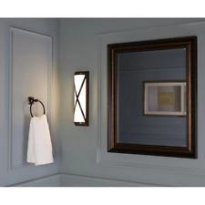"18"" Brushed Bronze LED Vanity Light Wall Mount Sconce Bathroom Lamp Modern"
