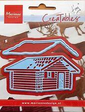 Marianne creatables Die Cut - Tiny's Log Cabin - craft, card making,0441