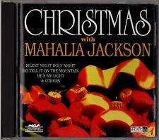 "MAHALIA JACKSON ""CHRISTMAS WITH"" CD 1995 esx special music"