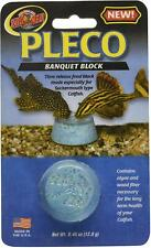 (4 Pack) Zoo Med Labs Feeder Pleco Banquet Food Block for Sucker-mouth Catfish