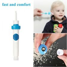Safety Electric Cordless Vacuum Ear Cleaner Cleaning Wax Remover Painless Tool