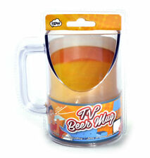 TV Beer Mug-Keep watching while drinking