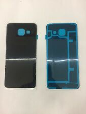 For Samsung Galaxy A3 2016 Back/Battery Cover Glass Replacement New Black