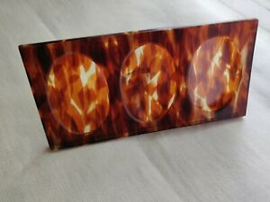 Vintage dressing/side table photo frame early plastic tortoise shell pattern 30s