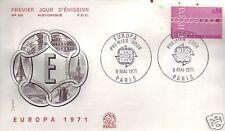 1677+ FDC ENVELOPPE 1er JOUR    EUROPA PARIS