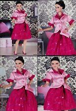 Ensemble de Soirée Création Couture OOAK pour Fashion Royalty  Barbie Silkstone