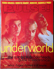Pulse Magazine W/ Underworld Wilco Fugazi Monster Magnet Ministry Electronica