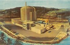 Pennsylvania postcard Peach Bottom Atomic Power Station artist conception York