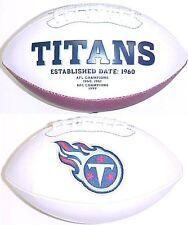 Tennessee Titans Rawlings Fotoball Signature Full Size NFL Team Logo Football
