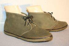 6 Nos Vtg 1960s 1970s Ankle Boot 60s LaCrosse Huddler Green Suede Bootie Shoe