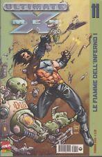 original italian edition  MARVEL ULTIMATE X MEN # 11 FEB 2003 LE FIAMME DELL' IN